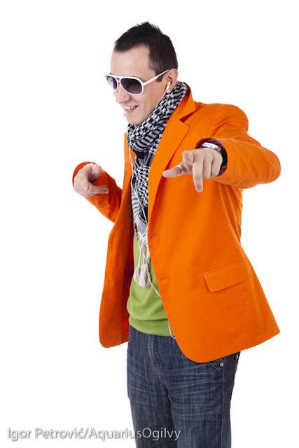 Young stylish guy